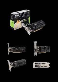 MSI GTX1050ti 4GB LP Low Profile GPU