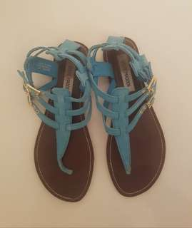 Steve Madden Turquoise Sandals Size 8.5