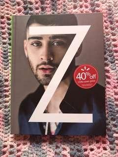 Zayn Malik one direction book