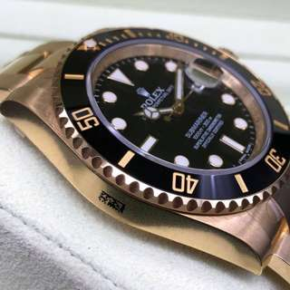 Rolex Submariner Gold 116618LN