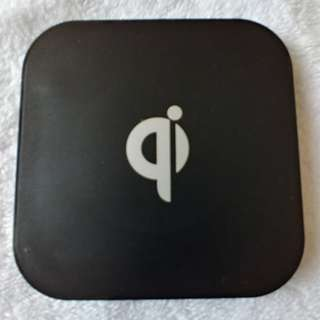 qi wireless charger with two USB HUB