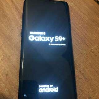 Samsung galaxy S9+...64GB...carrier unlocked
