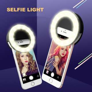LED Selfie Ring Light ( Rechargetable)