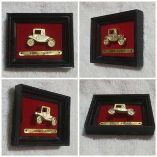 Vintage Ford Lizzie in Photo Frame