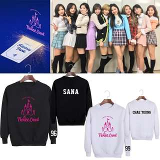 TWICE LAND UNOFFICIAL SWEATSHIRT TWICEINKL