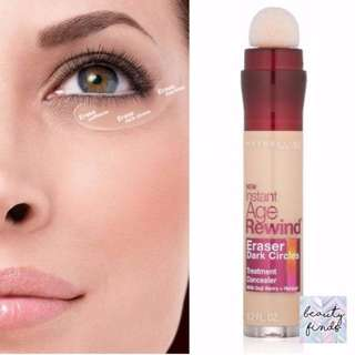 *CLEARANCE*: Maybelline Instant Age Rewind Eraser Dark Circles Treatment Concealer, Brightener (6 ml/0.2 fl oz)