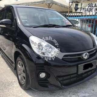 2012 Perodua Myvi 1.5 (A) SE Tiptop Condition