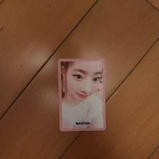 Twice dahyun signal card