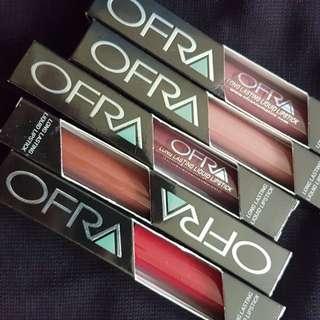 Ofta liquid lipsticks (sold per piece)
