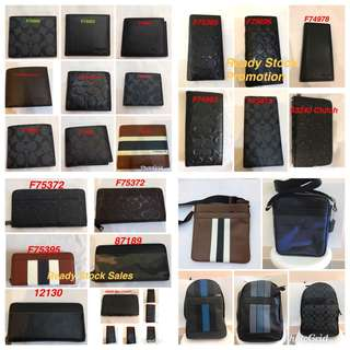Original coach men Wallet purse pouch coin bag briefcase laptop bag