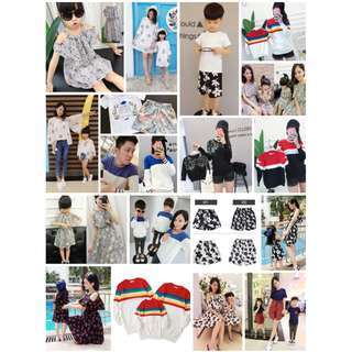 [Preorder] Korean style Family Matchy Wear