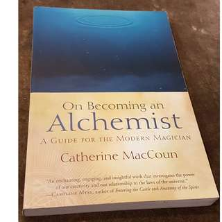 C106 BOOK ON BECOMING AN ALCHEMIST BY  CATHERINE MACCOUN