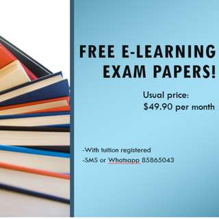 FREE E-learning Exam Papers!