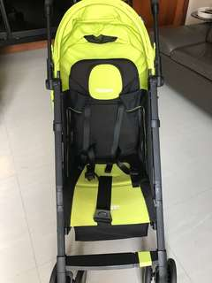 RECARO EASYLIFE stroller- Lime and black