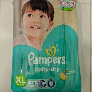 Pampers XL Diapers