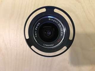 Zeiss ZM 25mm f2.8 Biogon