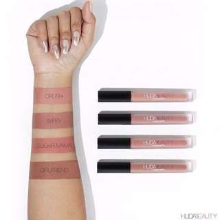 Instock and Authentic Huda Beauty Liquid Lipstick