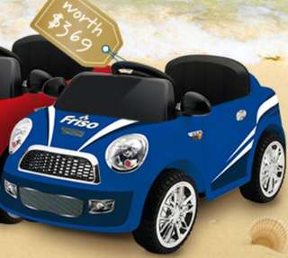 Friso Powered Ride On Car (Blue)