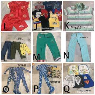 Boy cloth