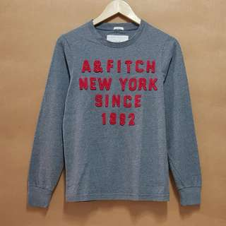 Abercrombie & Fitch Long Sleeves (Gray)