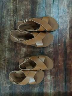 Mom and Daughter Sandals