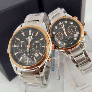 Casio Edifice 530P ❤️️Casio Sheen 5003P Couple Watch