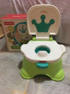 Toilet training pot