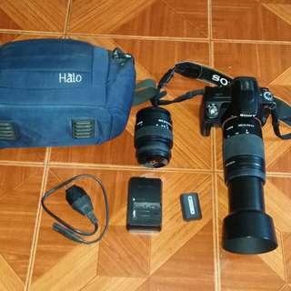 Sony a290 dslr camera