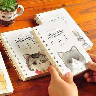 Kitty A6 Notebook [Pre-order]