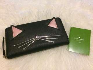 Kate Spade Neda Cat Wallet