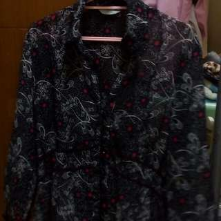 Baju marks &spencer black