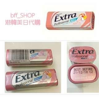🚚 香港必買 EXTRA薄荷糖果 最新蜜桃口味 #50元好物