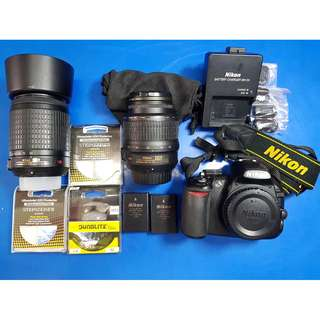 Nikon DSLR D3100 (Fast Deal)