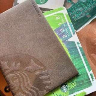 Starbucks Planner 2018 LEATHER COVER
