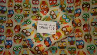 Stroller/Carseat Pad ~ Owl