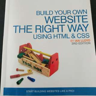 Build your own website the right way using HTML and CSS - Ian Lloyd