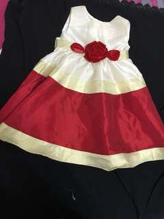 *24M* Almost New Rare Editions Party Dress For Baby Girl