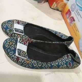 Batik flatshoes #sale