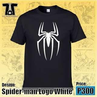 Spiderman Logo White T-Shirt