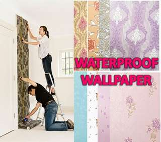 WATERPROOF WALLPAPER N00920