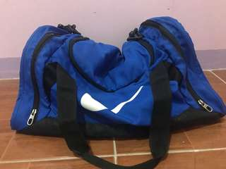 Original Blue Nike Duffle Bag