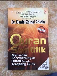 Quran Saintifik by Dr Danial Zainal Abidin
