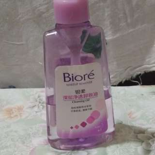 Biore oil cleanser