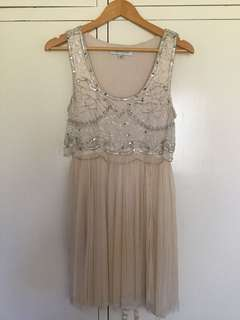 Forever New - beaded dress - size 10