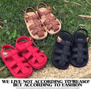 hysteric mini Baby Shoes 2018夏款 黑超娃娃兒童沙灘鞋 時尚奶嘴卡通涼鞋