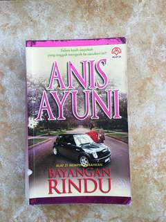 Novel Bayangan Rindu by Anis Ayuni