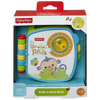 Fisher Price Infant Peekaboo Book