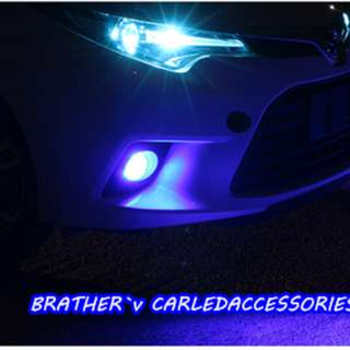 LED Fog Lamp Bulb 2 Function Brighter than Halogen, DIFFERENT COLOUR