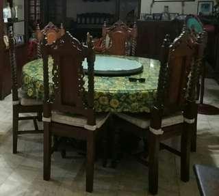 Solid Narra Dining Set