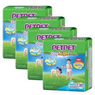 CARTON SALE Petpet day night pants diapers